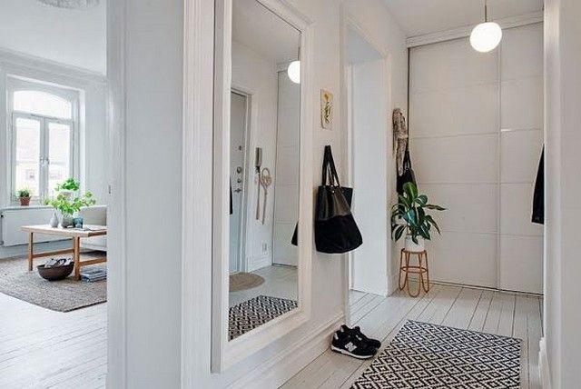 Espejos en pasillos mi casa ideal entradas de casas for Espejos decorativos para pasillos