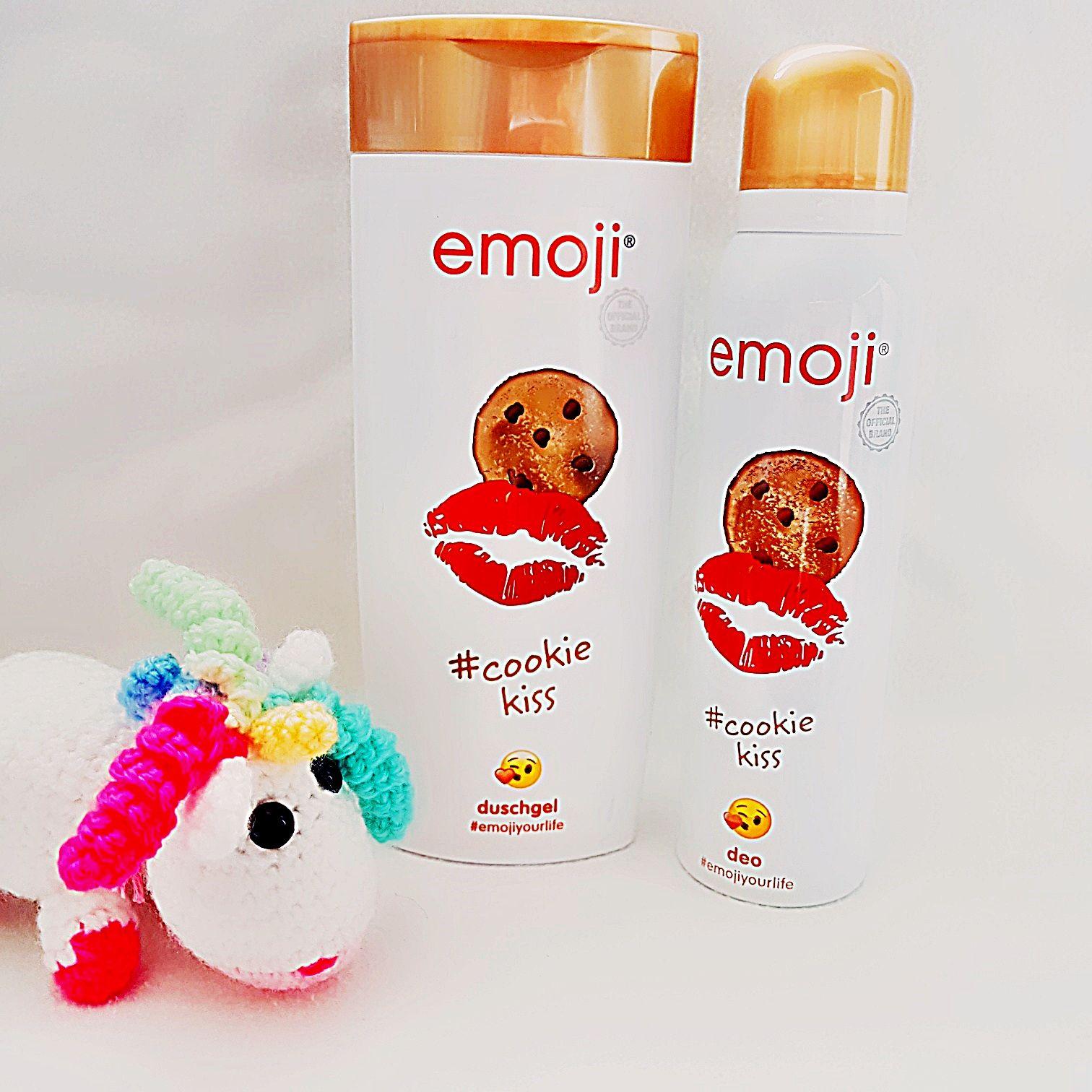 emoji cookiekiss Duschgel und Deospray