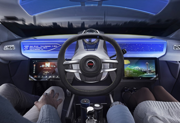The Nissan Rinspeed Xchange Self Driving Car Will Be On The Roads For 2020 Video Carhoots Direksiyon Otomobil Haber