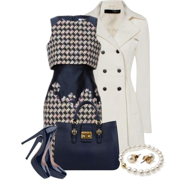 U0026quot;Houndstoothu0026quot; by natasha-gayden on Polyvore | Fab Finds For The Fashionista! | Pinterest ...