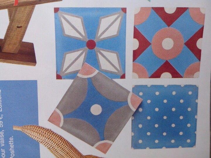 carreau de ciment petit pan x carocim projets essayer pinterest. Black Bedroom Furniture Sets. Home Design Ideas