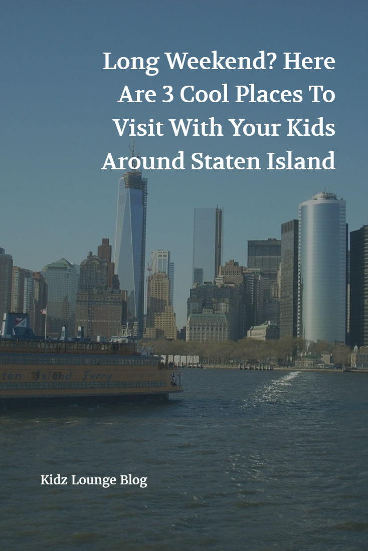 And if you're holidaying with your kids, then there are 3 cool places you must visit, as kids always love them. Here are those! http://blog.kidz-lounge.com/everything-else/long-weekend-here-are-3-cool-places-to-visit-with-your-kids-around-staten-island/