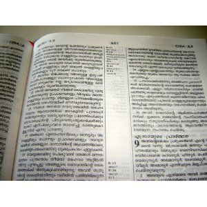 Malayalam Full Life Study Bible with Concordance and Color