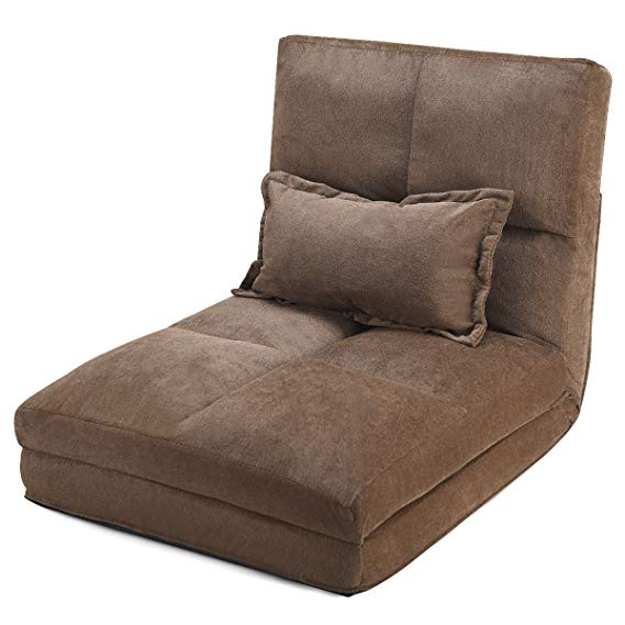 Giantex Triple Fold Down Sofa Bed, Adjustable