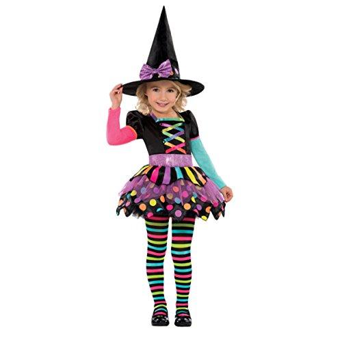Christy's Disfraz bruja de Halloween para niñas de 34