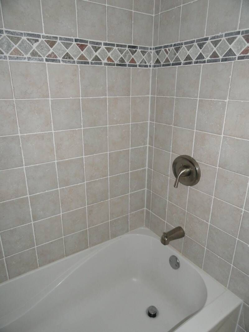 Bathrooms With Tiled Tubs | Ceramic Tile Flooring Ceramic Baseboard Ceramic Tile  Around Tub Shower .
