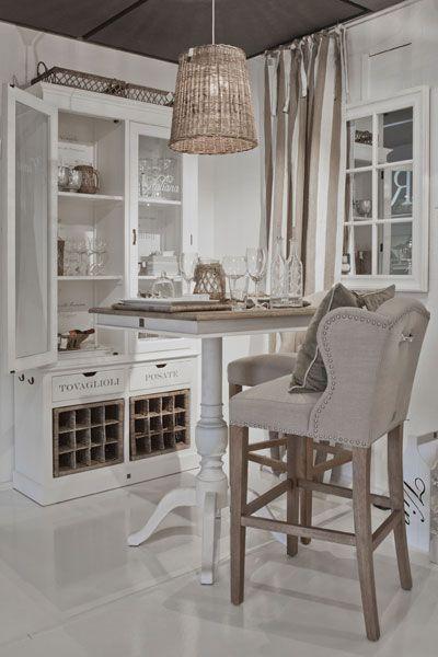 riviera maison - high table and barstools New House Pinterest - küche landhausstil gebraucht