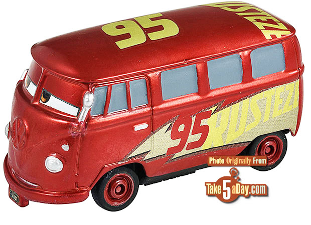 Disney Pixar Cars Takara Tomy Retro Rust Eze Racing Center