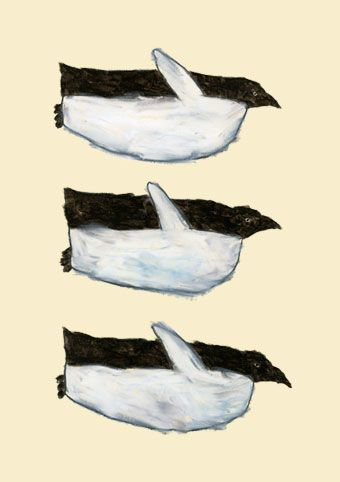on a penguins wings | 米津祐介のホームページ #illustration #design