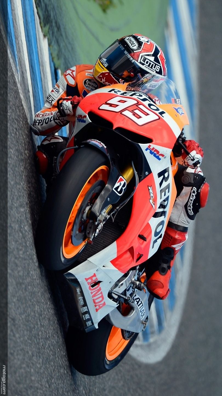 Speed Marquez Repsol Honda Motorcyklar