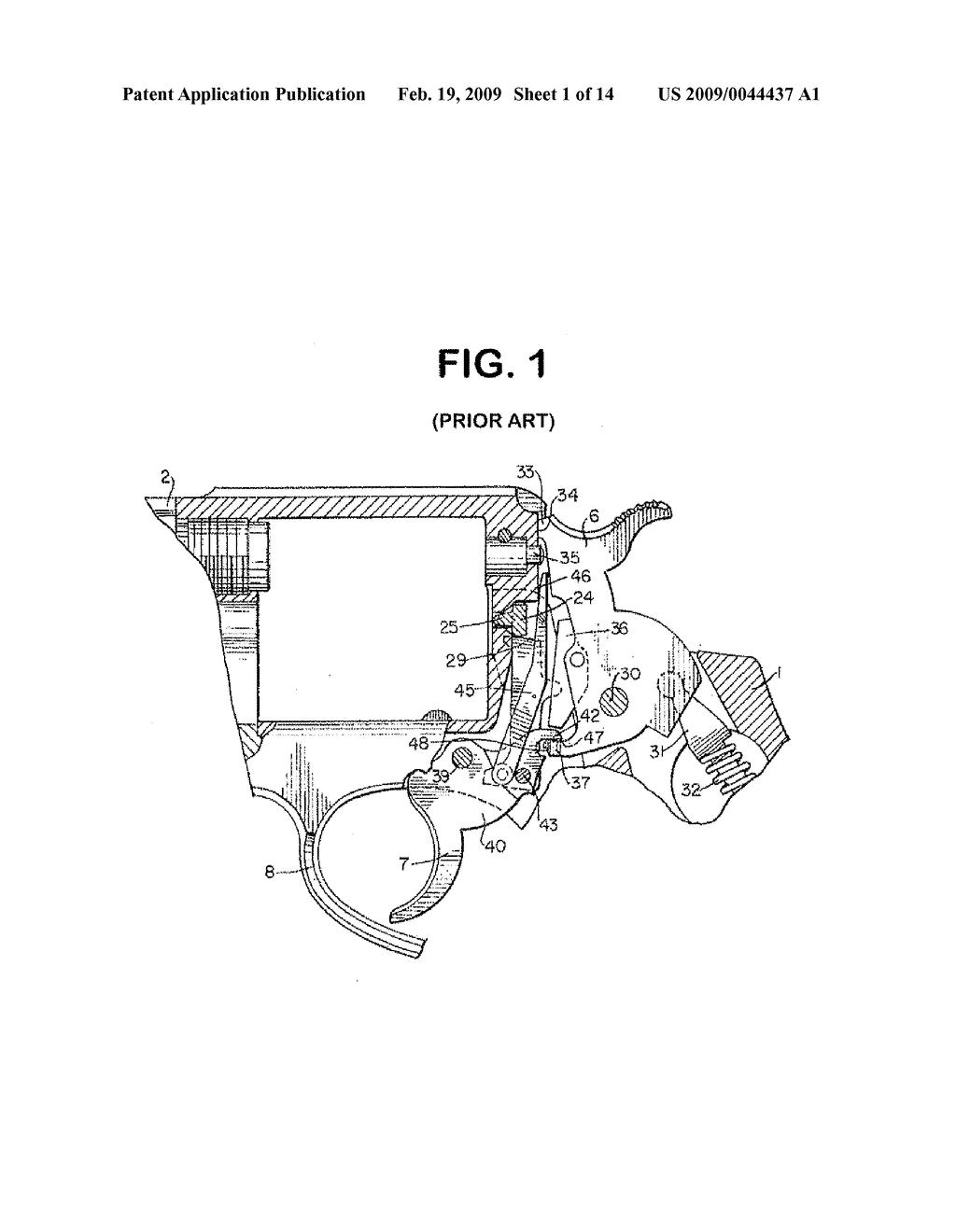 revolver trigger mechanism diagram schematic and image 02 [ 1024 x 1320 Pixel ]