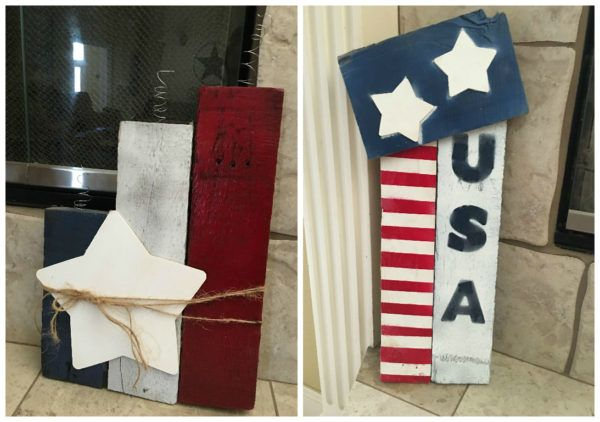 4th Of July Pallet Decor Pallet Home Decor Pallet Wall Decor Pallet Painting