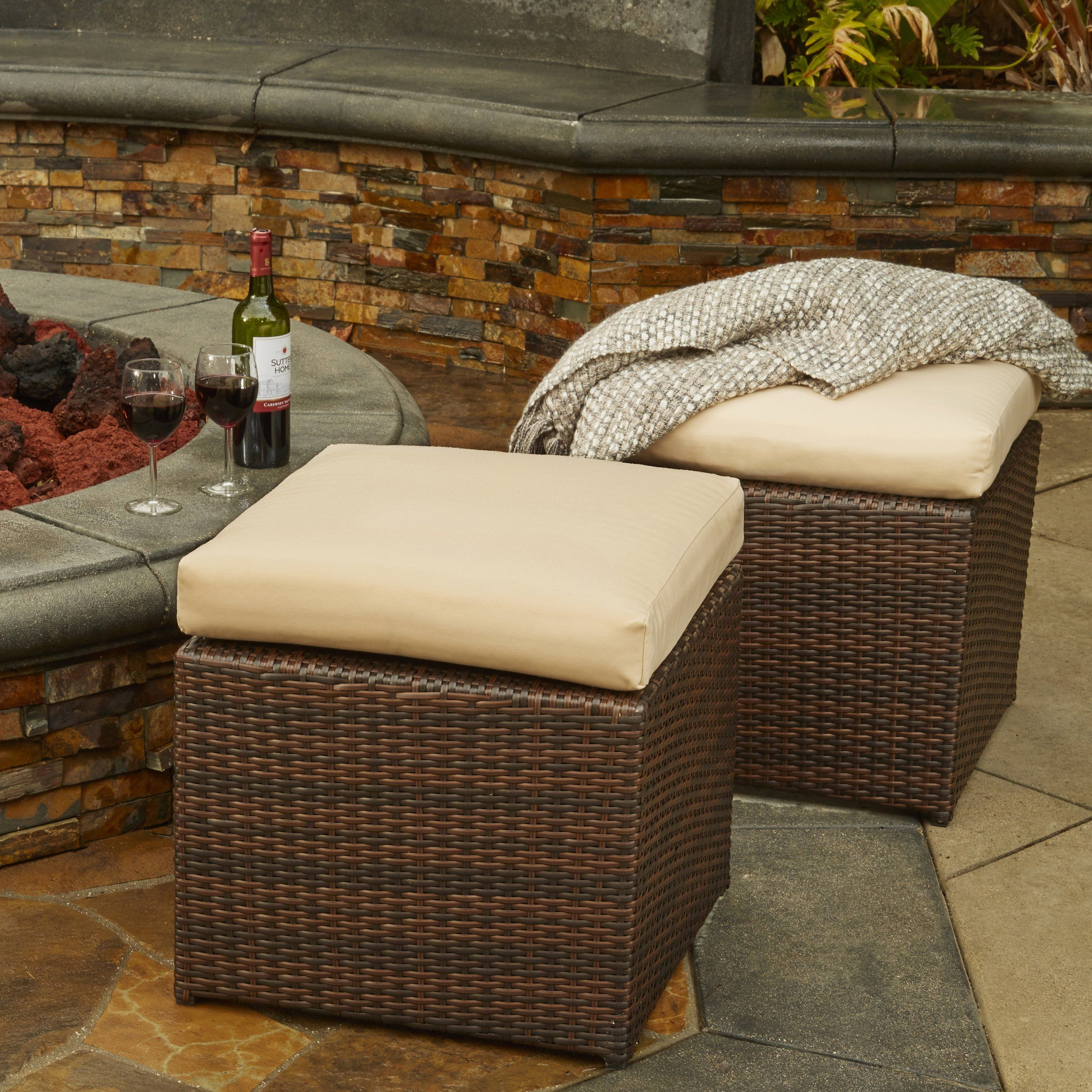 Remarkable Havenside Home Stillwater Indoor Outdoor Dark Brown Woven Uwap Interior Chair Design Uwaporg