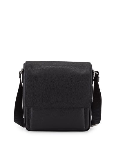 88874fe3edc SALVATORE FERRAGAMO Revival Leather Men S Messenger Bag, Black.   salvatoreferragamo  bags  shoulder bags  leather  crossbody  lining