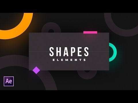 331 Shape Elements In After Effects Aejuice After Effects Tutorial Youtube After Effect Tutorial Adobe After Effects Tutorials After Effects
