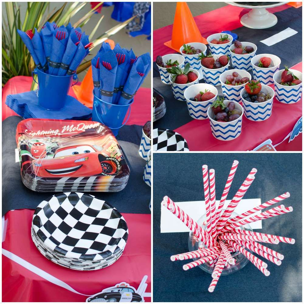 Cars Lightning McQueen Birthday Party Ideas | Photo 1 of 31 | Catch My Party  sc 1 st  Pinterest & Cars Lightning McQueen Birthday Party Ideas | Pinterest | Lightning ...