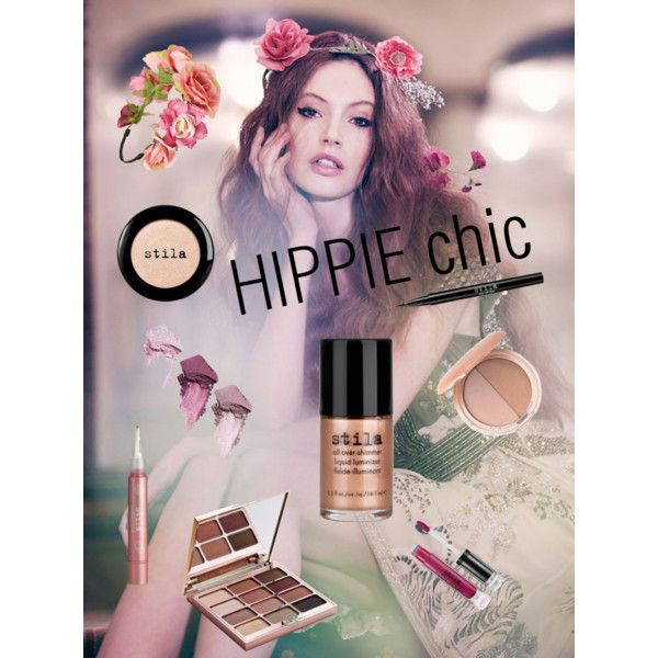 Hippie chic by dress-it-all-up on Polyvore featuring polyvore, beauty, Stila and BP.