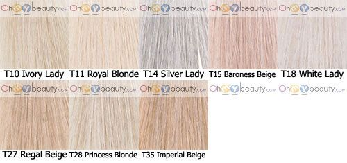 think the names have changed but wella color charm toners also hair rh pinterest