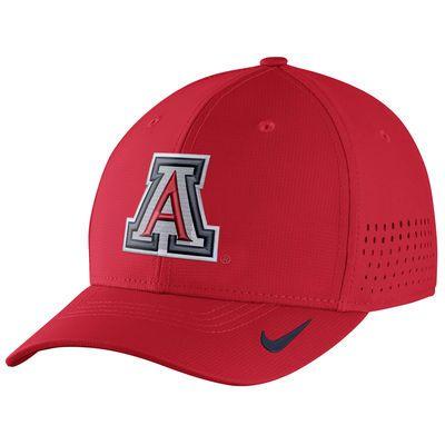 14613755 Nike Arizona Wildcats Red Sideline Vapor Coaches Performance Flex Hat