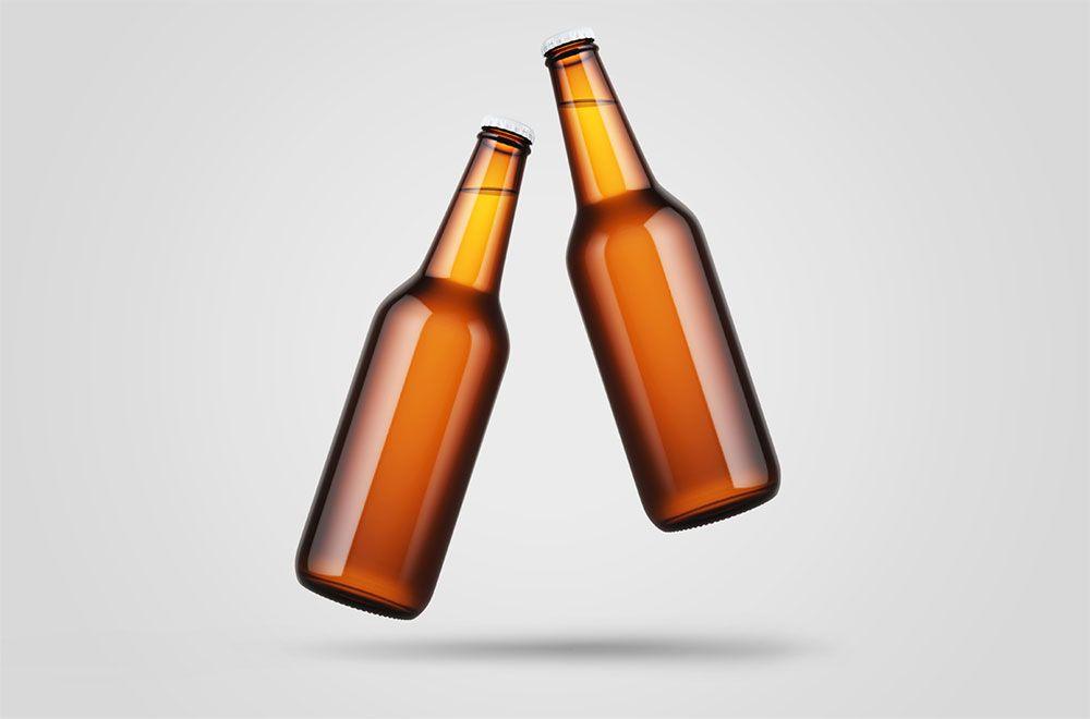 Free Levitating Beer Bottle Mockup Free Package Mockups Beer Bottle Design Bottle Mockup Beer Bottle