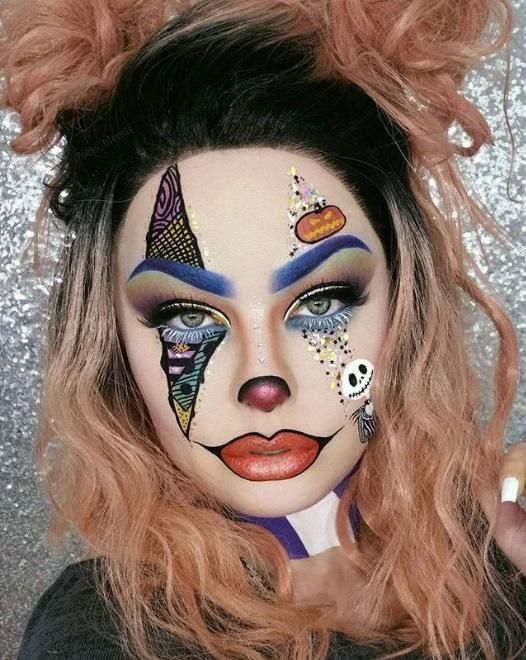 Christmas Halloween Makeup.Halloween Makeup Looks That You Ll Scream For Halloween