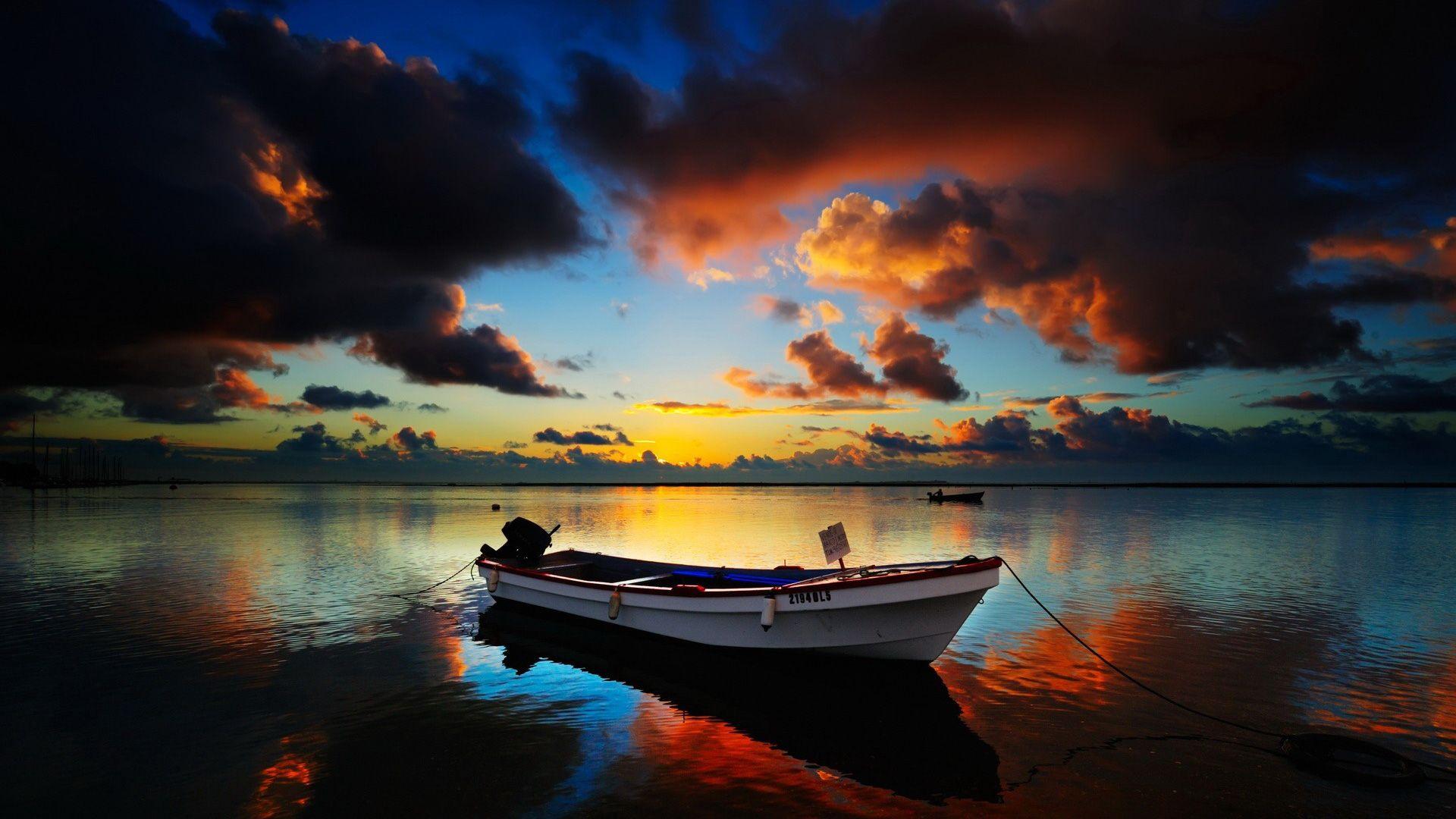 pics of sunrises | dark sunset - 1920x1080 - 16:9 | it was a new day