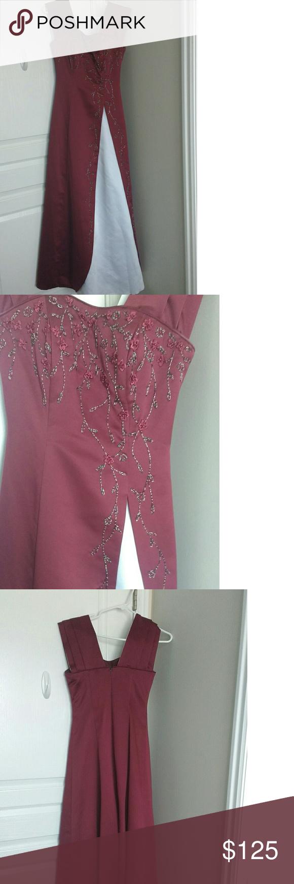 Modest burgondy prom dress prom dress prom and customer support