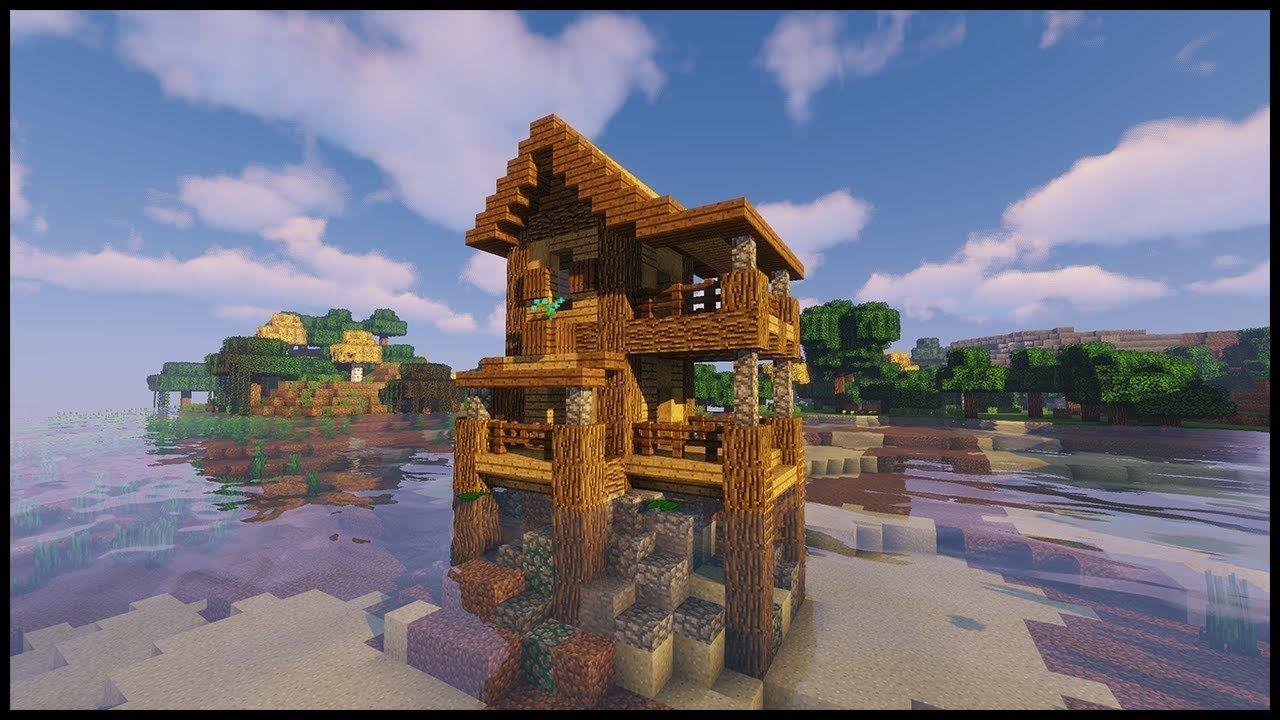 Minecraft Starter House!!! Minecraft 1.13 Tutorial https ...