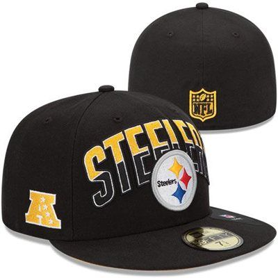 fed7f0b9 New Era Pittsburgh Steelers Youth 2013 NFL Draft 59FIFTY Fitted Hat ...