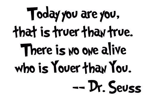 Dr Seuss Quotes To The World You May Be One Person 41802 Loadtve