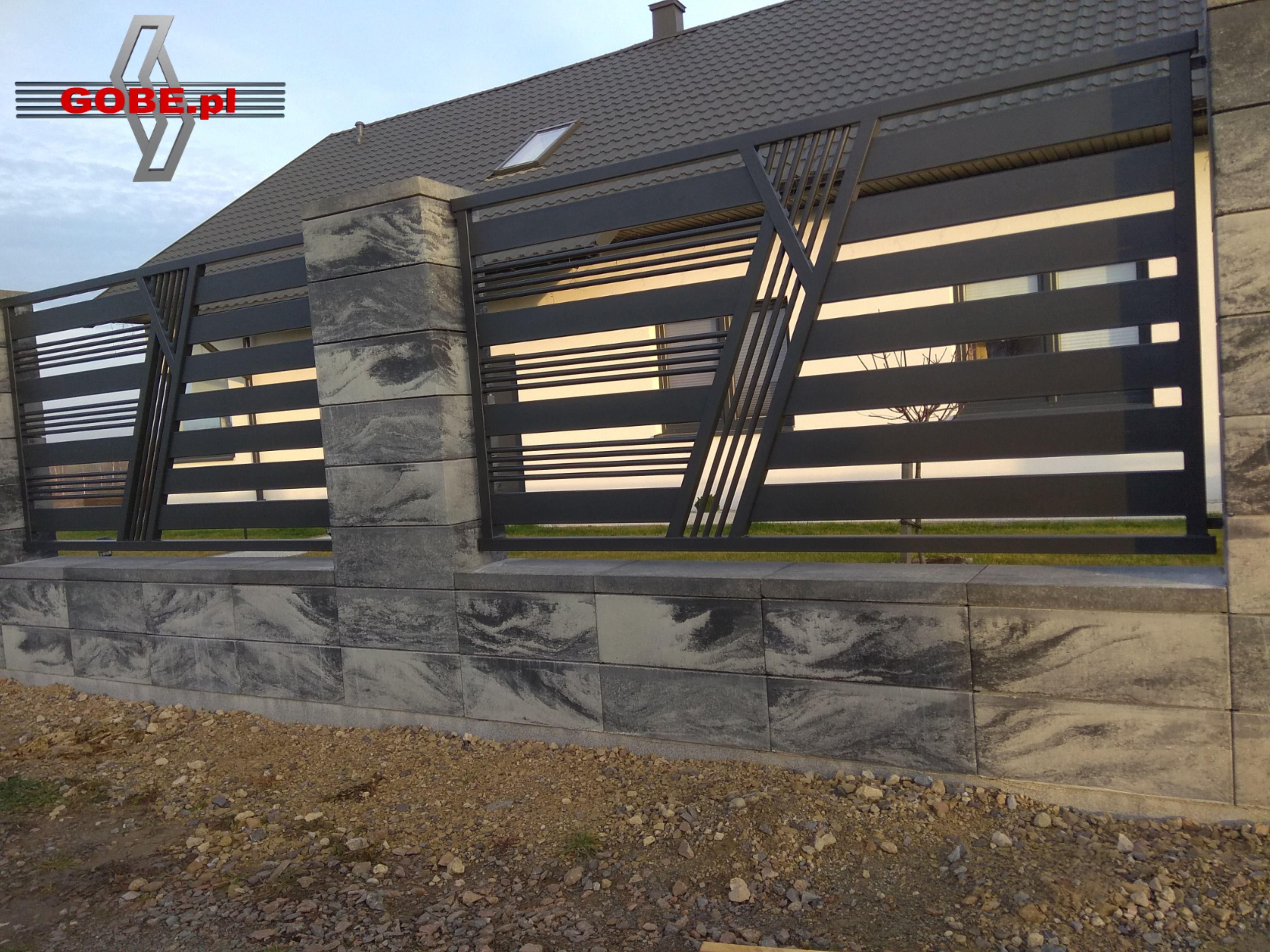 Ogrodzenia Nowoczesne Gobe Pl Gate Design House Main Gates Design Gate Designs Modern