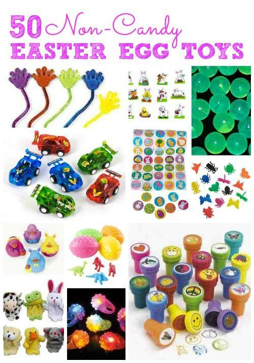50 non candy easter egg filler ideas educ easter pinterest 50 non candy easter egg filler ideas cheap kids toyseaster basket negle Images