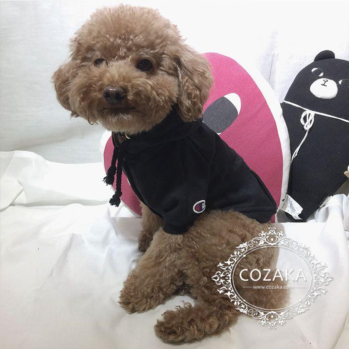 Champion 犬服 犬 服 チャンピオン ペット洋服 猫服 防寒着 可愛い 犬 猫 服 犬用品
