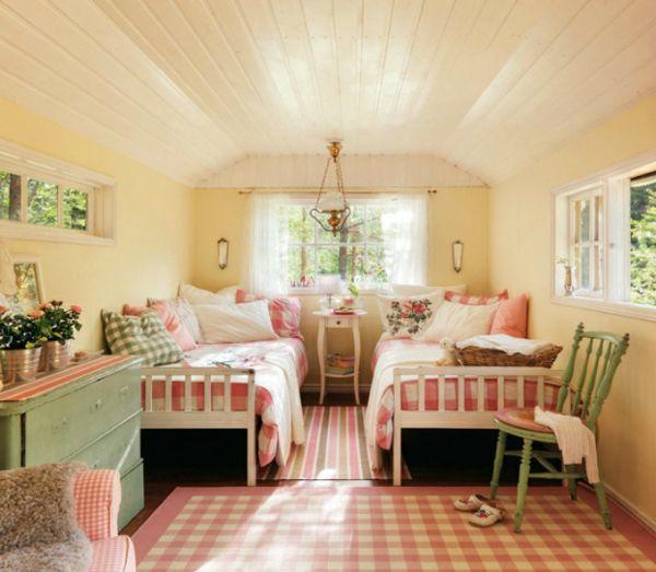 Schwedisches Gartenhaus Mit Märchenhaftem Interieur Zum
