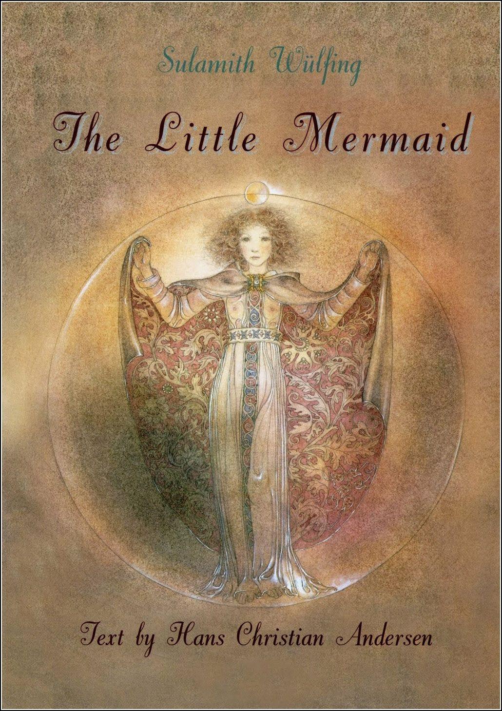 Hans Christian Andersen The Little Mermaid Die Kleine Seejungfrau Wuppertal Elberfeld 1953 Illu The Little Mermaid Fairytale Illustration Vintage Book Art