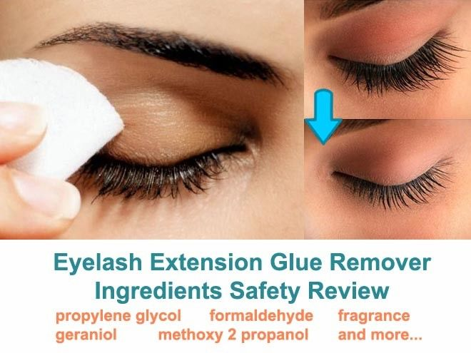 5333151960d Do you know all the INGREDIENTS in your eyelash extensions glue remover?  Are they SAFE for your eyes, silk, or GENUINE mink lashes?