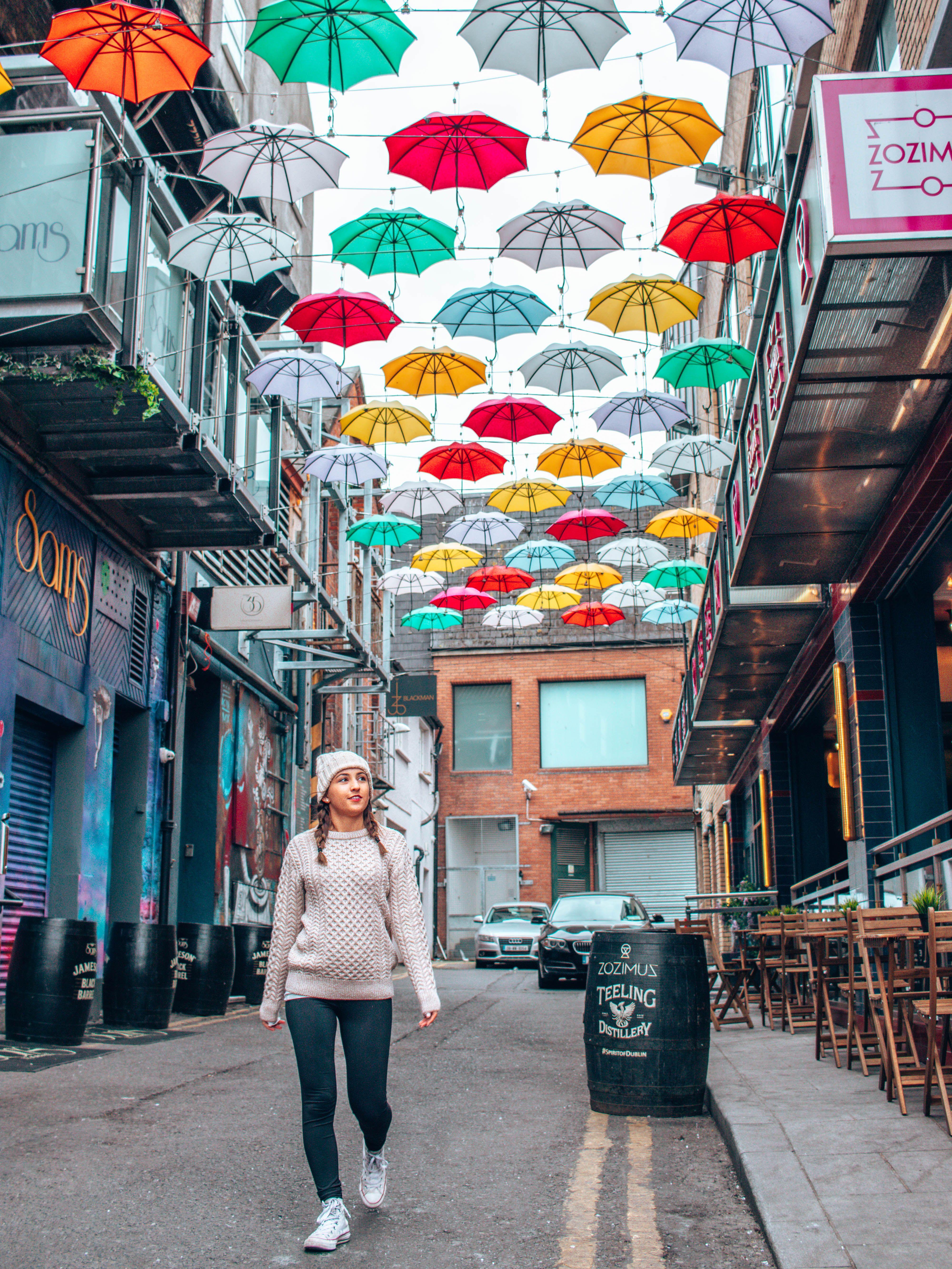 Ireland Dublin Umbrellas Ireland pictures