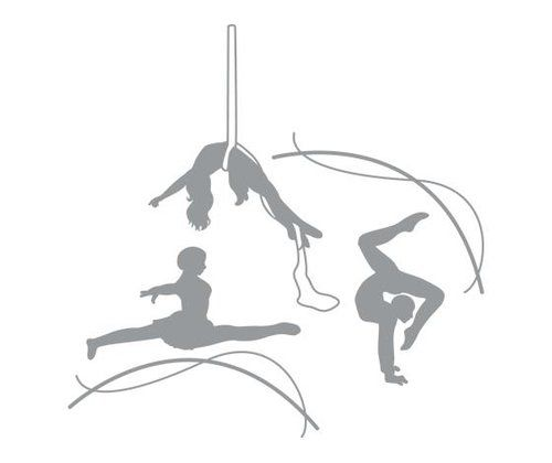 Photo of East Urban Home Wall Decal Acrobatic Ropes | Wayfair.de
