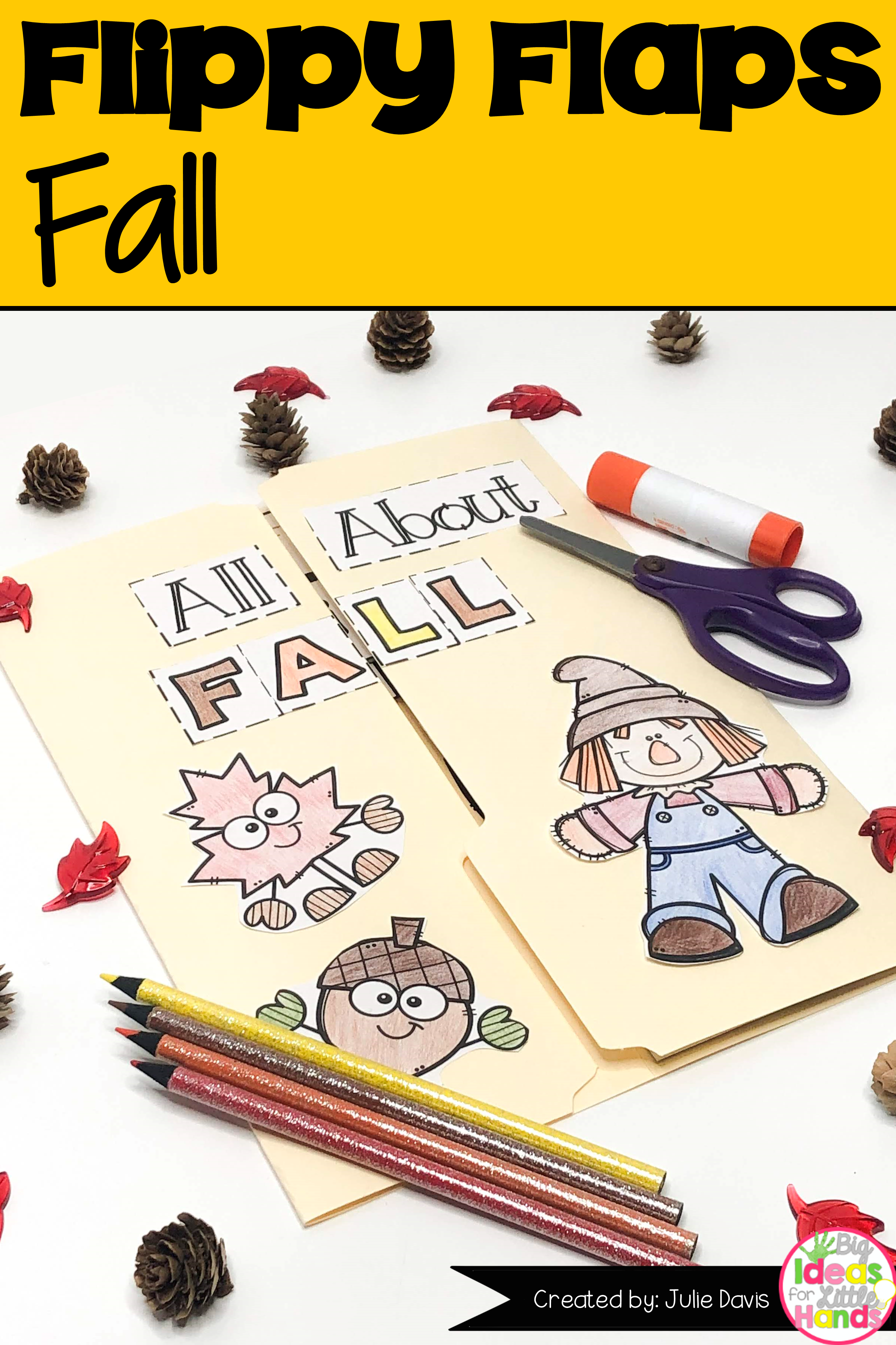 Fall Leaves Activities Interactive Notebook Lapbook