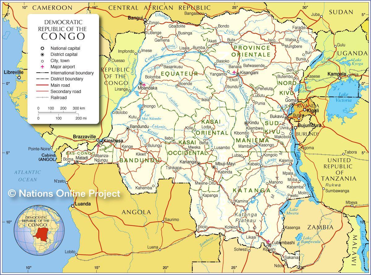 96 best 2.4.3.1 | G.O. Maps | Congo images on Pinterest | Maps