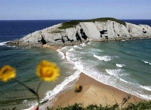 Playa de Covachos, Itsmo