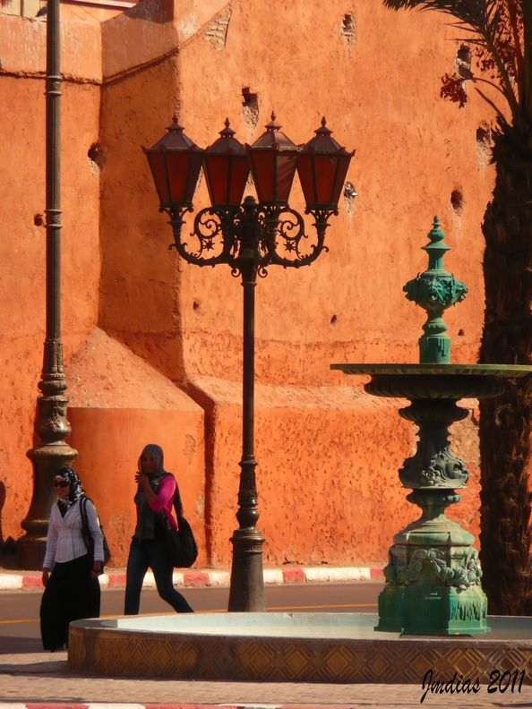 The red walls of Marrakech