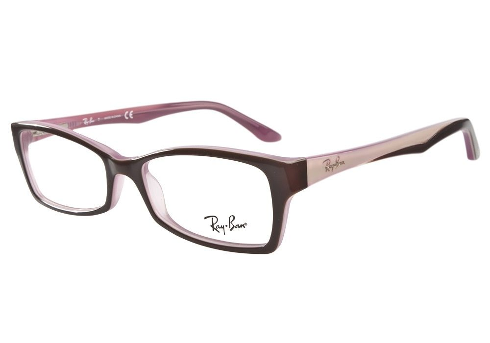 df3acdd32519 Authentic Ray-Ban RB5234 2126 Brown Pink eyeglasses. ClearlyContacts.ca  features a wide range of affordable designer frames. Visit us online today!  from   ...