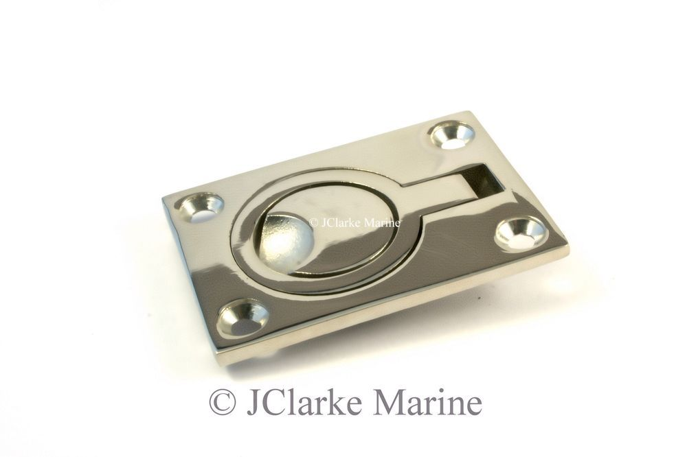 Details about Flush lift ring / hatch pull handle made from