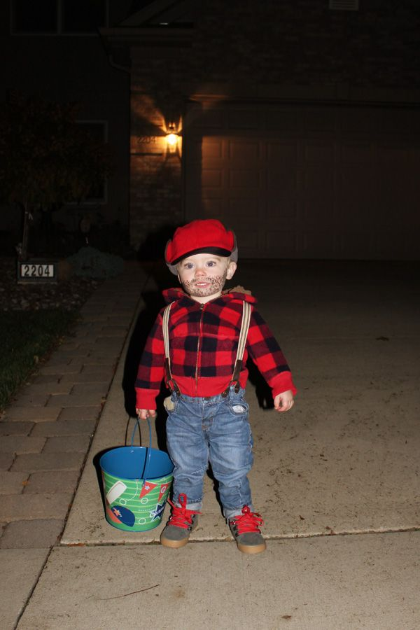 Logger Toddler Halloween Costume Idea Happy Halloween Pinterest - unique toddler halloween costume ideas