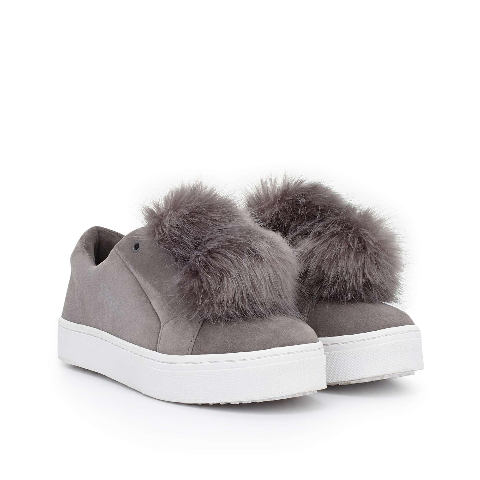 Leya Fur Sneaker