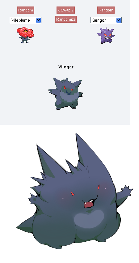 -Pokemon fusion- Vilegar by mia-rhu