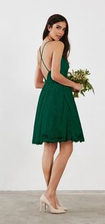 Shop from a variety of Evergreen bridesmaid dresses & gowns at Weddington Way. Mix and match your bridesmaids in different styles .