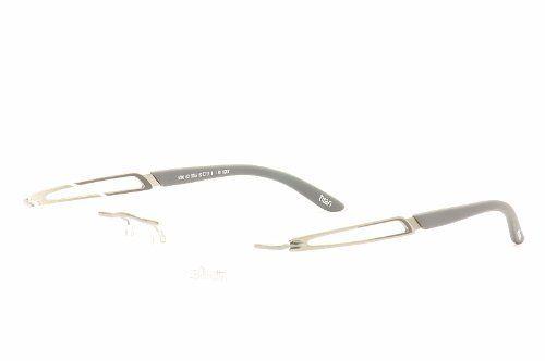893fd3e037 Silhouette Eyeglasses Titan Sculpture Chassis 5207 Grey Comet Optical Frame  Rimless Silhouette.  199.95