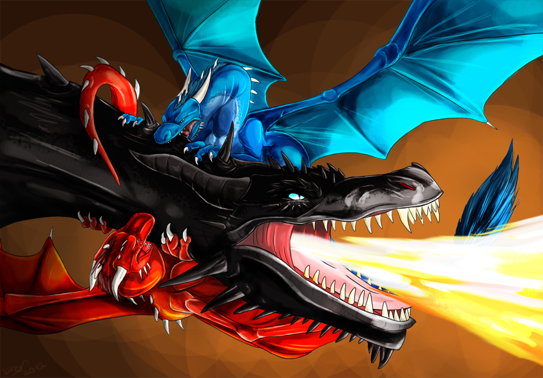 Saphira, Thorn and Shruikan (The battle for Freedom by ...Eragon Murtagh And Thorn
